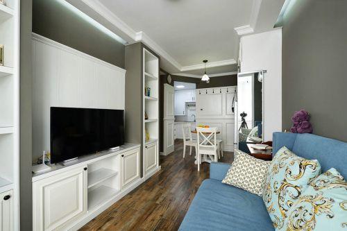 美式风格客厅装饰设计图片
