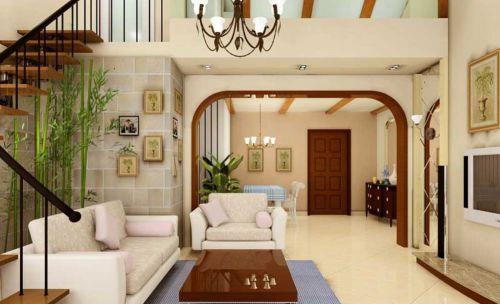 美式现代客厅布置欣赏