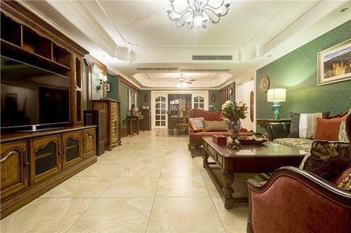经典美式客厅设计