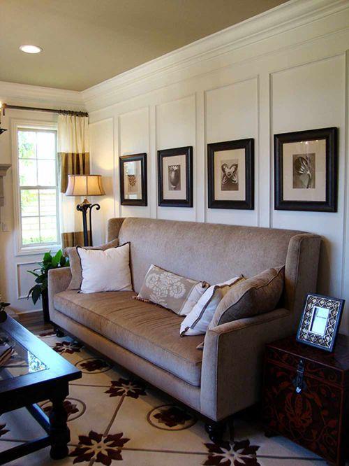 简洁典雅美式风格客厅家装效果图