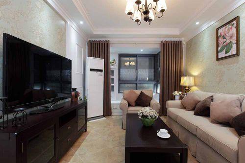美式简约客厅设计效果图片