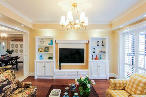 美式风格客厅设计欣赏