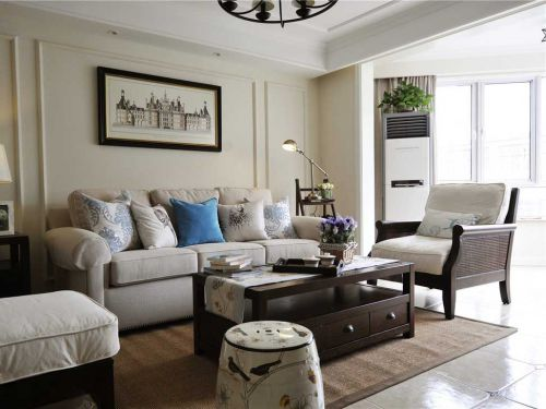 2016美式温馨舒适客厅布置规划