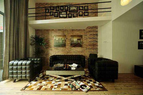 2015混搭客厅装修效果图
