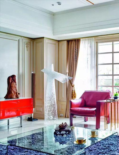 混搭时尚客厅装修设计案例