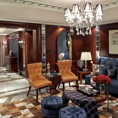 时尚混搭风格客厅装修效果图设计欣赏