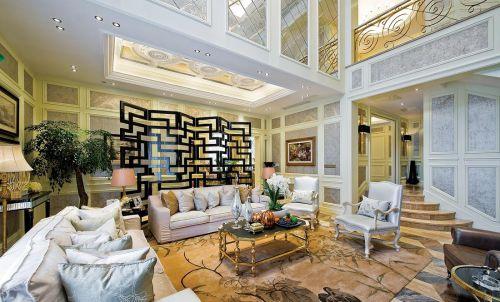 雅致时尚混搭风格客厅装修效果图欣赏