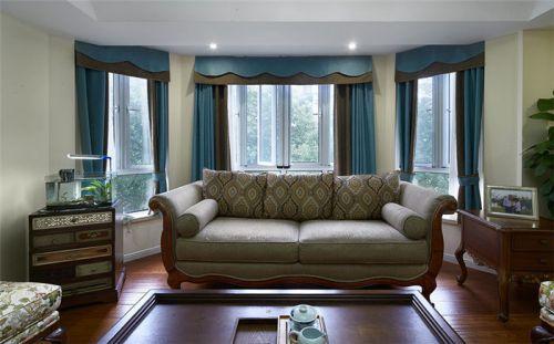 混搭风格雅致白色客厅设计欣赏