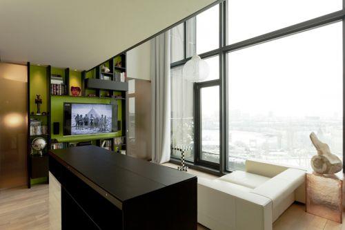 混搭风格客厅设计欣赏