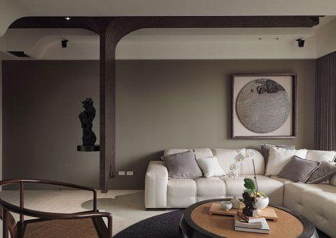 混搭风格客厅装潢案例