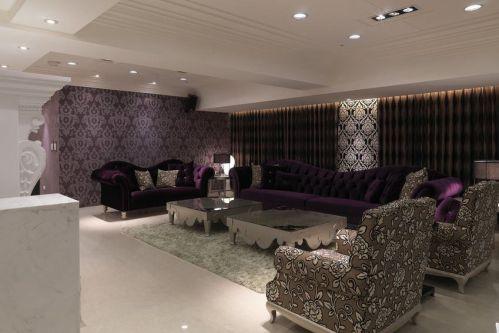 灰色混搭风格客厅装修设计欣赏