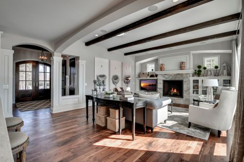 灰色混搭风格客厅设计赏析