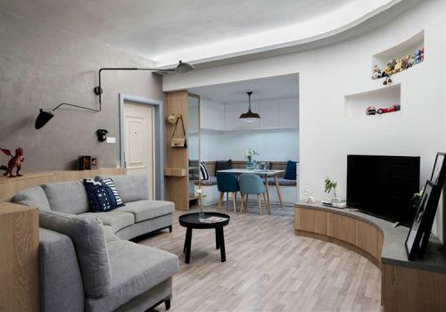 个性宜家风格客厅装修设计