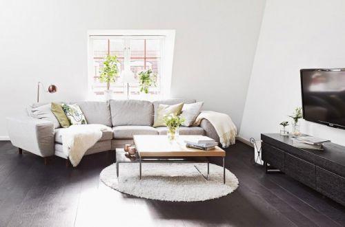 北欧宜家客厅设计图片