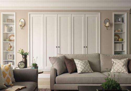 米色质感宜家风格客厅装修图
