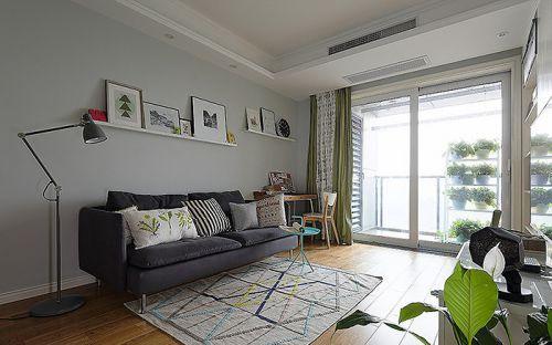 宜家风格客厅装潢案例