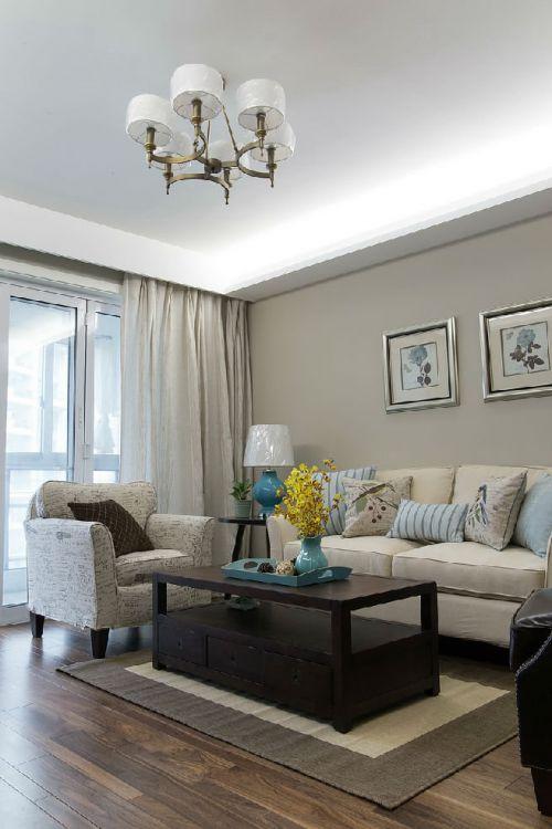 宜家风格低调灰色客厅装修案例