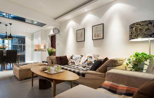 宜家风格白色清新客厅设计赏析