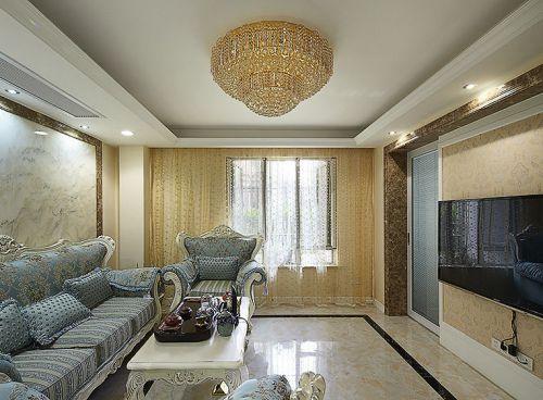 精致简欧风格客厅装潢设计