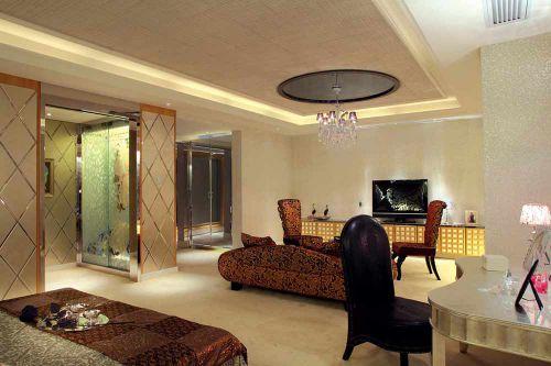 温馨雅致简欧风格客厅装饰设计