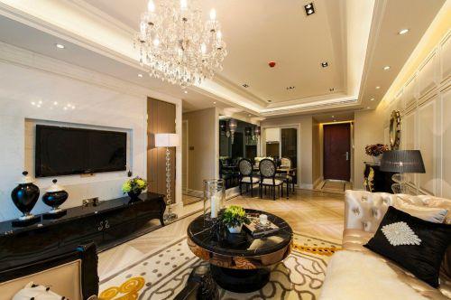 时尚新古典风格客厅装修图片赏析