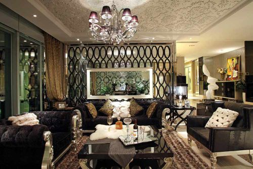 精品雅致新古典主义客厅装饰展示