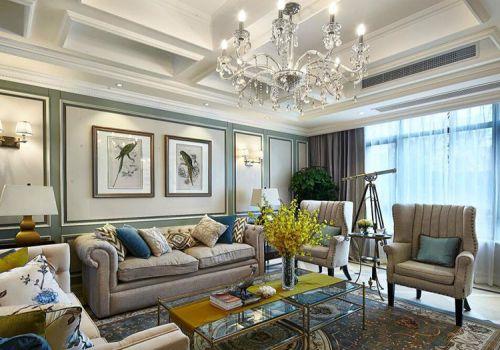 时尚新古典客厅设计美图