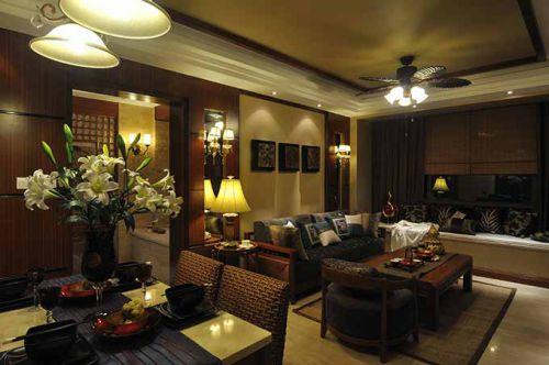 新古典主义古雅客厅装潢设计