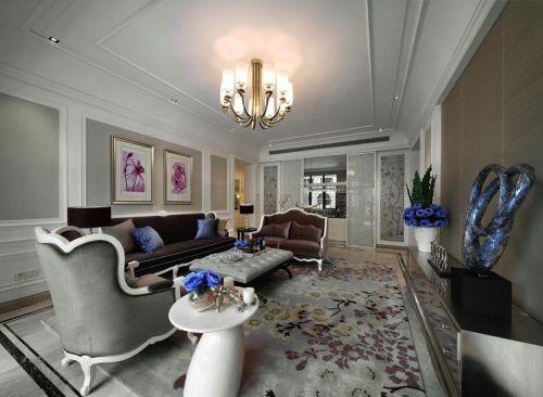 2016简欧风格客厅设计图片