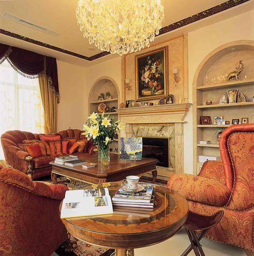 2016新古典时尚客厅装修案例