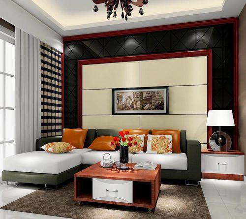 时尚新古典风格客厅装修案例
