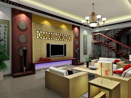新古典雅致客厅装修案例