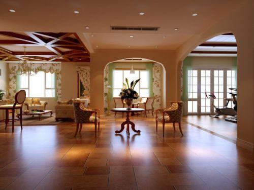 雅致简欧风格客厅装潢案例