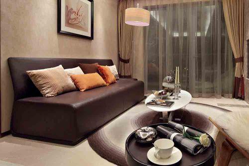 新古典主义简约客厅设计效果