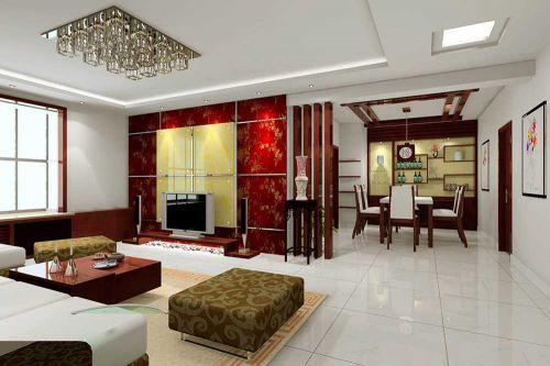 大气华丽新古典风格客厅室内装潢