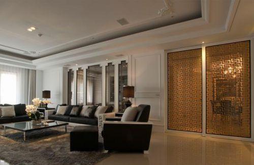 新古典主义客厅装潢设计