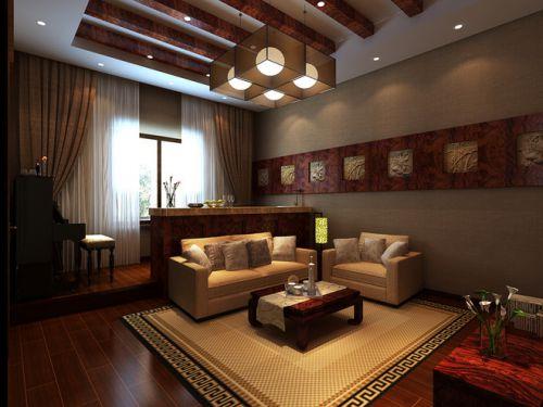 雅致新古典风格客厅设计欣赏