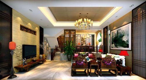 新古典客厅装饰设计图片