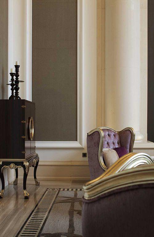 新古典风格时尚客厅局部装潢
