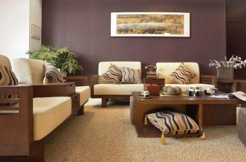 典雅优美东南亚客厅装修设计