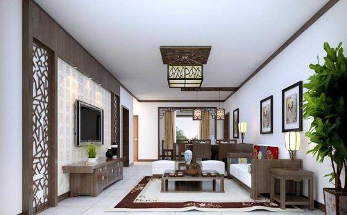 典雅清新新古典风格客厅装修效果图