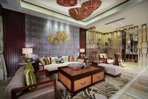 东南亚客厅美图设计欣赏