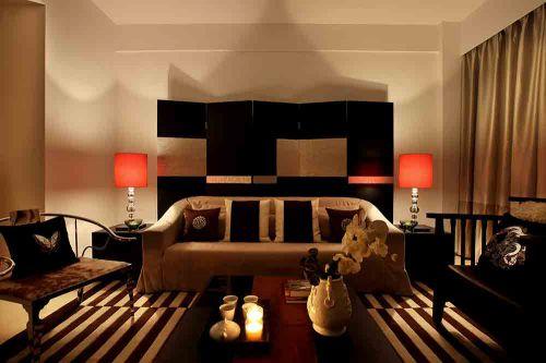 新中式客廳設計效果圖