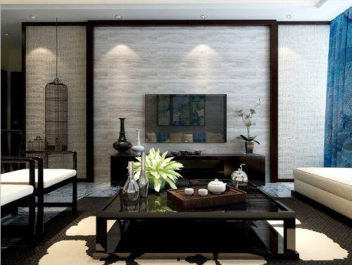 雅致中式風格客廳設計案例
