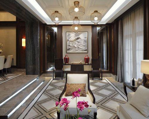 中式風格客廳裝潢設計欣賞