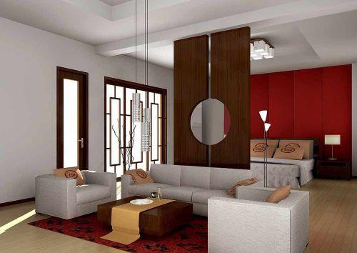 2018雅丽新中式风格客厅设计图