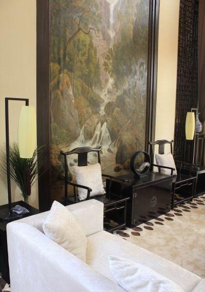 雅致中式风格客厅效果图欣赏