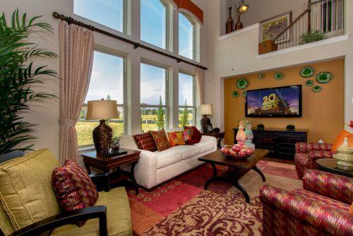 休闲田园风格客厅装修效果图设计
