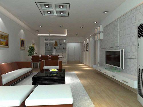 现代风格装潢客厅设计欣赏