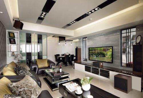 现代风格客厅效果图欣赏